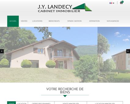J.Y. Landecy, l'immobilier à Thoiry, Bourg En...
