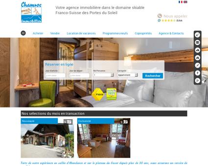 Immobilier La Chapelle-d'Abondance. Vente...