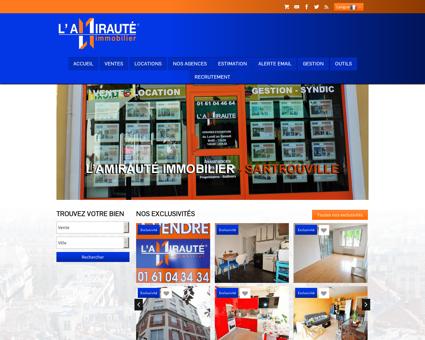 L'Amirauté Immobilier - Sartrouville, Houilles,...