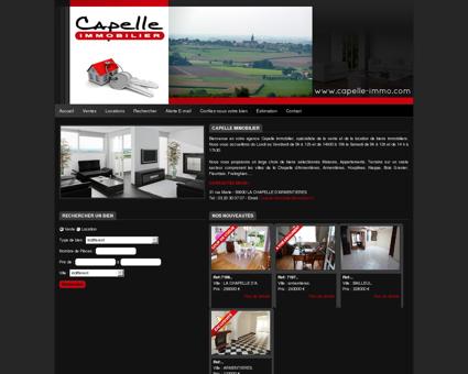 Capelle Immobilier, agence immobilière La...