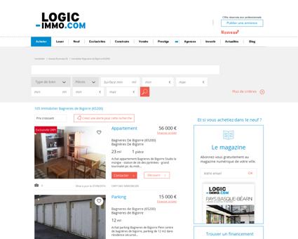 Achat Bagneres de Bigorre 65200: biens...