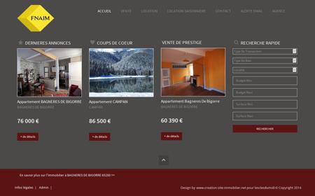 Immobilier Bagneres De Bigorre agence...