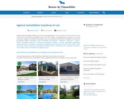 Agence immobilière Castelnau le Lez -...