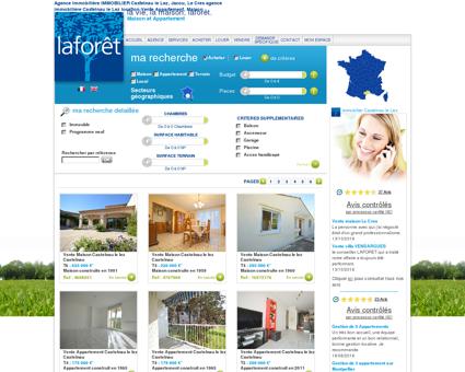 Agence immobilière IMMOBILIER Castelnau le...