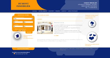Agence immobilière DUMONT IMMOBILIER -...