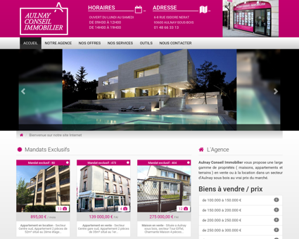 Aulnay Conseil Immobilier, agence...