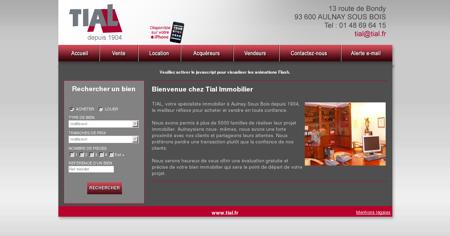 Bienvenue chez Tial Immobilier - www.tial.fr