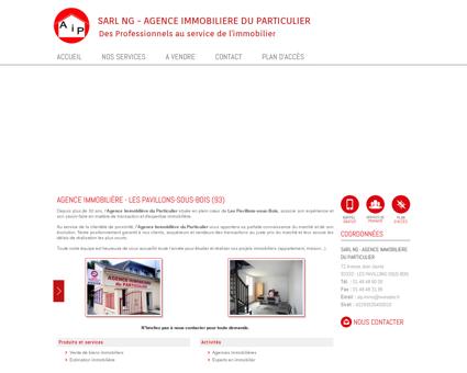 Agence immobilière : Pavillons sous Bois Livry...
