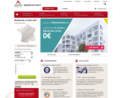 Akerys Promotion - Immobilier Neuf