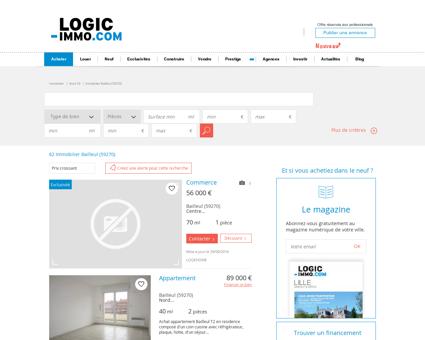 Immobilier Bailleul | logic-immo.com