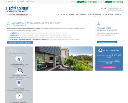Chasseur immobilier : recherche...