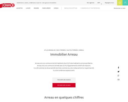 Immobilier Arreau - Biens immobiliers vendus...