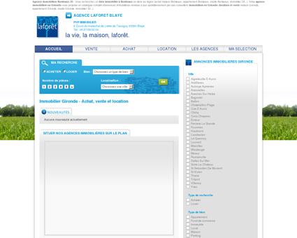 Immobilier Bordeaux Laforêt 33 : achat - vente...