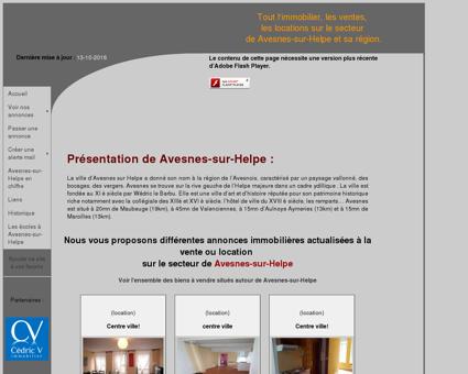 Avesnes-sur-Helpe Immobilier - Annonces...