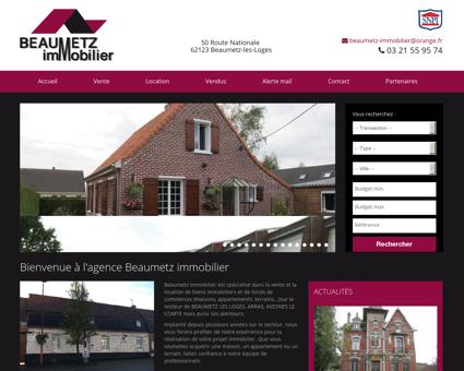 Agence immobilière Beaumetz-les-Loges :...