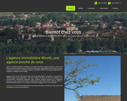Agence Immobilière Carbonne 31, vente et...