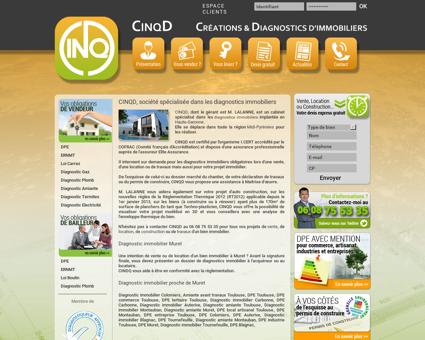 Diagnostic immobilier Muret 31600 | CINQD