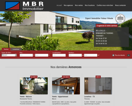 Accueil | MBR IMMOBILIER