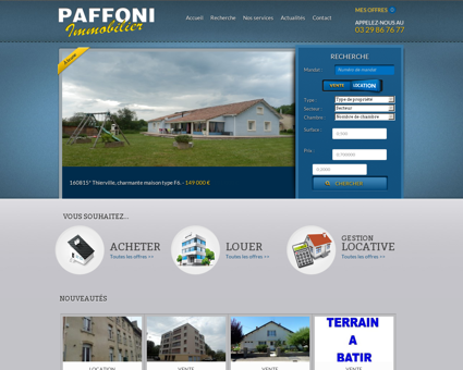 Paffoni Immobilier - Agence de vente et...