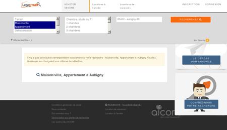 Immobilier aubigny - Tous types appartements et villas.