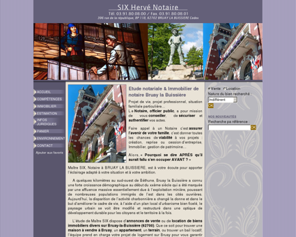 Etude notariale & Immobilier de notaire Bruay...
