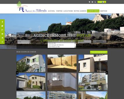 Agence des Tilleuls - Agence immobilière de...