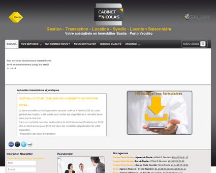 Cabinet Saint Nicolas - Gestion - Transaction -...