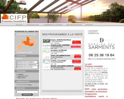 Programme immobilier neuf en Provence...