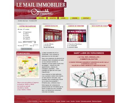 Agence immobilière Le Mail Immobilier - Blois ...
