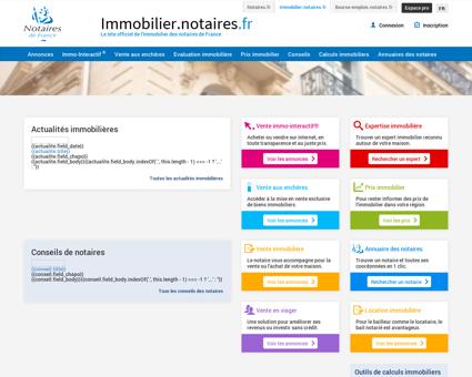Immobilier.notaires : Site officiel de...