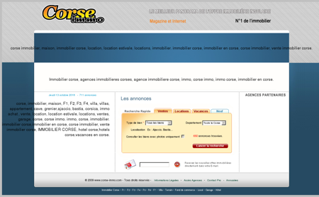 Immobilier Corse | Agences immobilières...