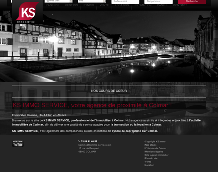 KS IMMO Service immobilier à Colmar,...