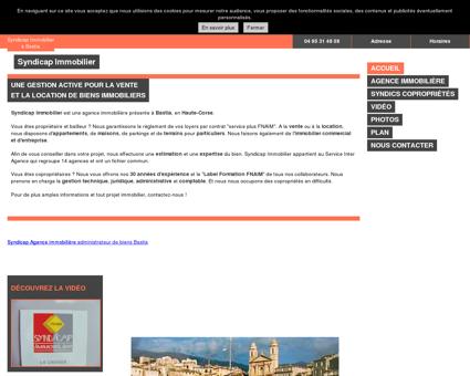 Administrateurs de biens à Bastia en Haute...