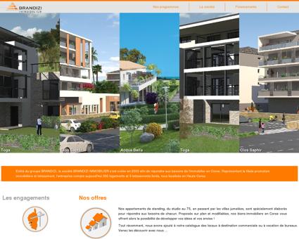 Immobilier en Corse - Brandizi Immobilier