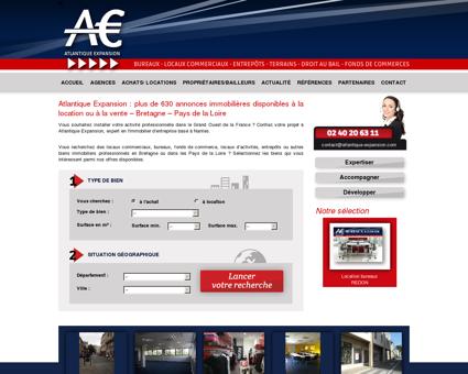 Immobilier d'entreprise - Bretagne - Pays de la...