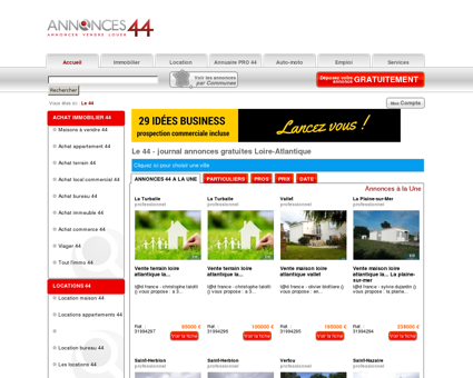 Le 44 # Annonces gratuites # Nantes & Loire...