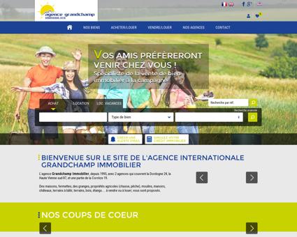 Agence Grandchamp Immobilier - 2 agences...
