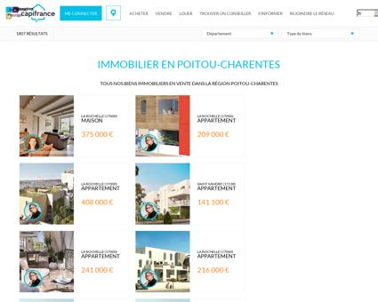 Immobilier à vendre Poitou-Charentes :...