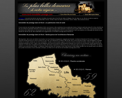 Immobilier de Prestige Nord Pas de Calais -...