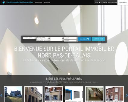 immobilier 59, 62, Nord, Pas-de-Calais, Lille,...