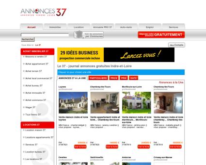 Le 37 # Annonces gratuites # Tours & Indre-et...