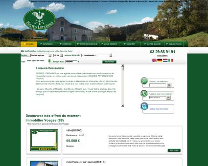 Immobilier Pierres Lorraines - Achat - Vente -...