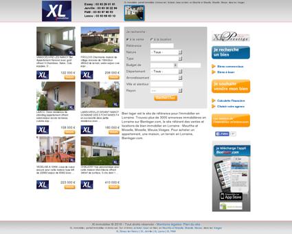 XL, portail immobilier des agences XL...