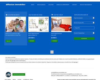 Immobilier Barcelonnette agence immobiliere...