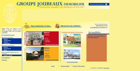 GROUPE JOUBEAUX IMMOBILIER -...
