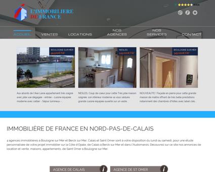 Immobilier Saint-Omer : L'IMMOBILIERE DE...