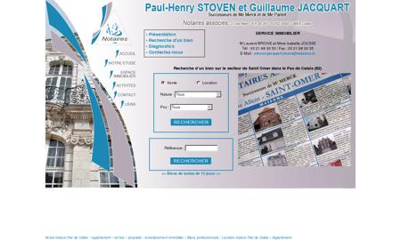 Immobilier de notaire Pas de Calais (62) ...