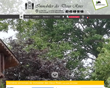 Agence Immobilière - Mayenne