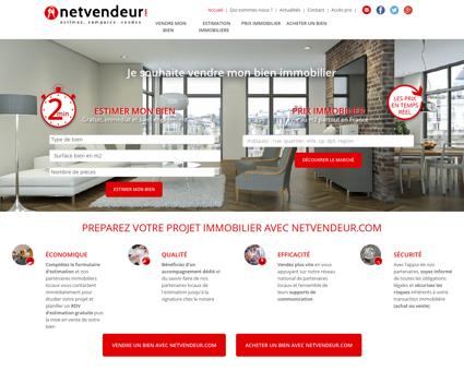 Prix immobilier - Netvendeur : estimation...