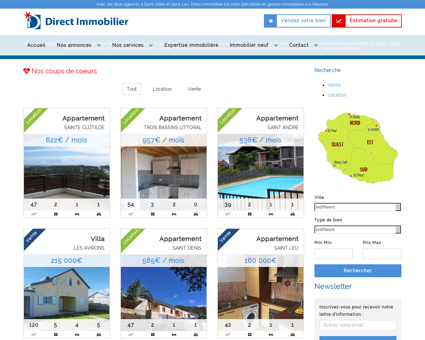 L'immobilier à la Réunion : vente, location et ...